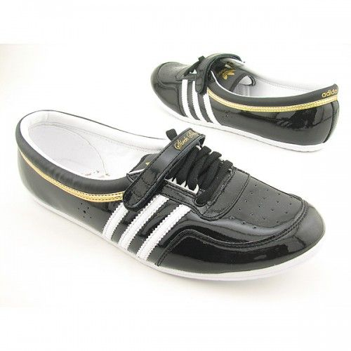 ADIDAS Concord Round Sneakers Shoes Black Womens | Baskets