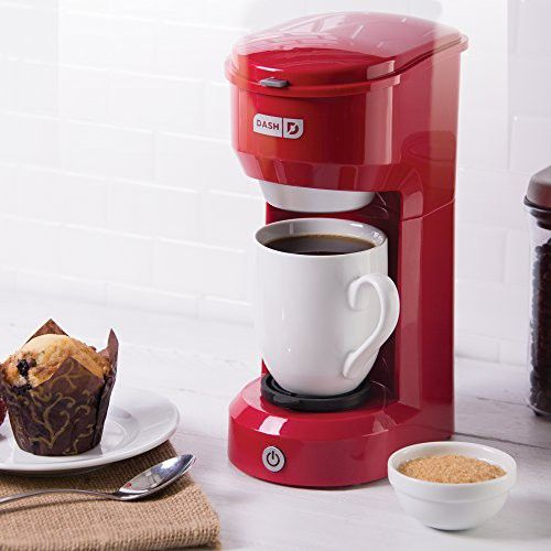 Dash Dpc100rd Single Cup Drip Coffee Maker Red キッチン