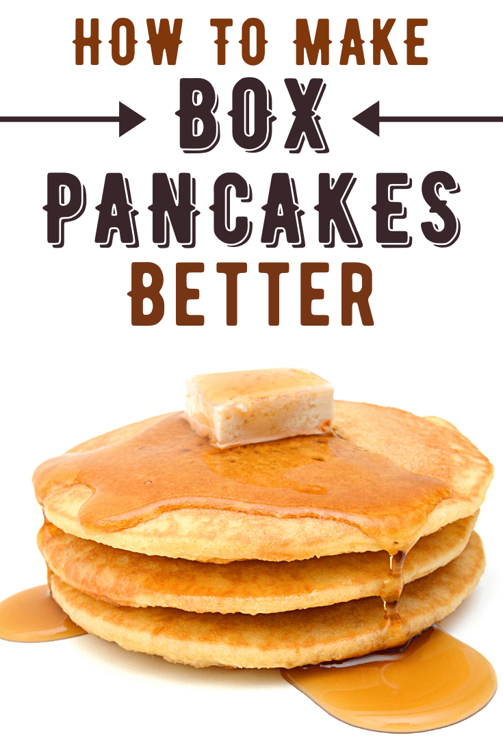How To Make Boxed Pancakes Better Recipe Aunt Jemima Pancake Mix Recipe Pancake Mix Recipe Pancake Mix Recipes