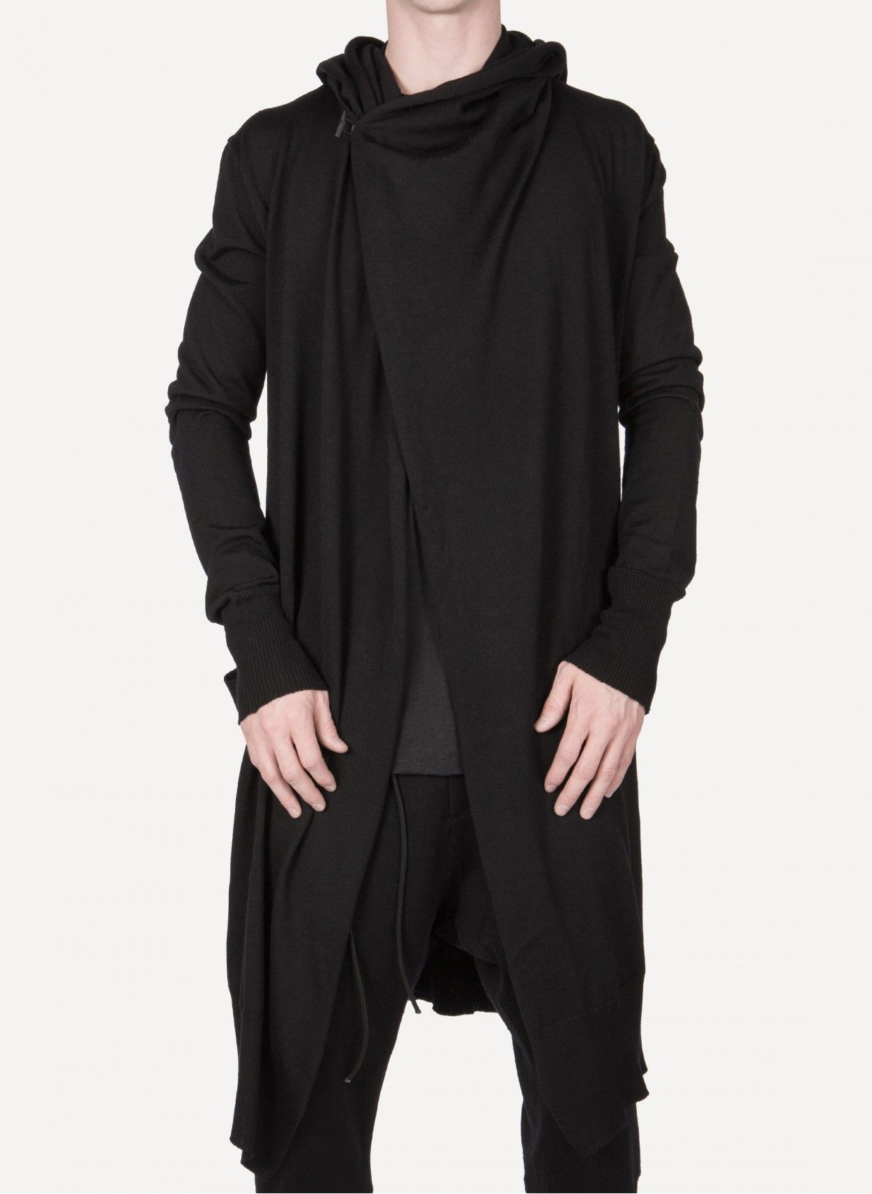 Pin By Cruvoir On Æther Hooded Cardigan Mens Fashion 515c652ef