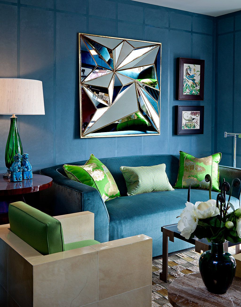 Inside The 2012 Kips Bay Show House Published 2012 Decor Home Decor Turquoise Sofa