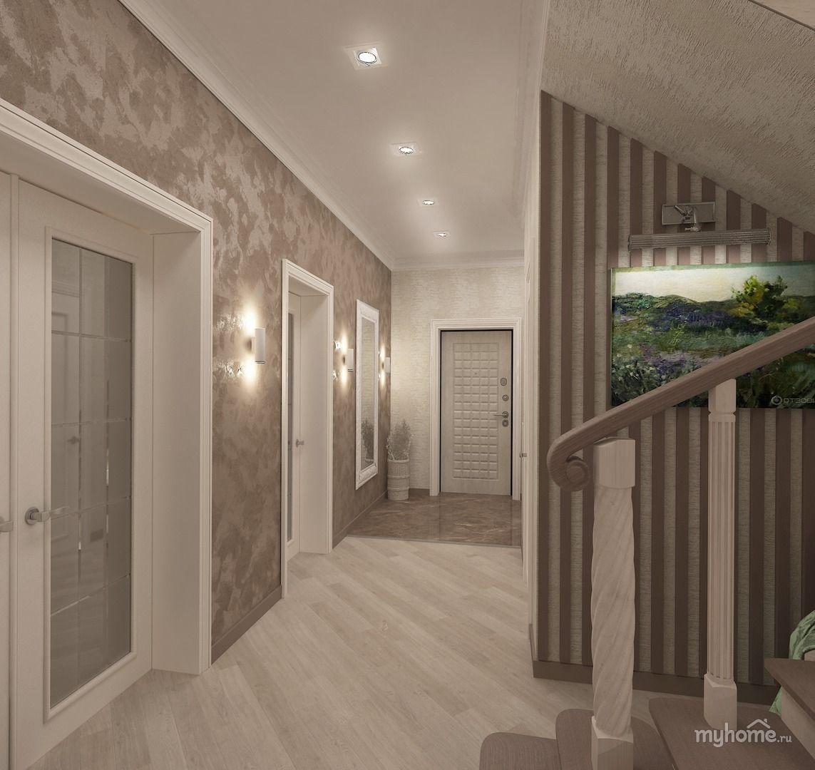 нашем дизайн коридора в частном доме фото качестве основного