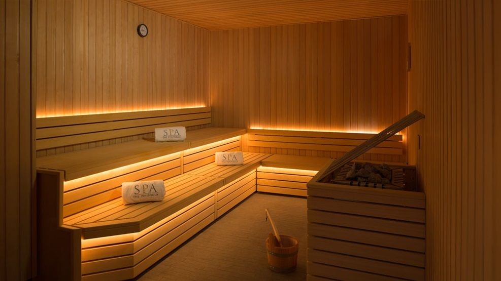 Luxury Spa The Peninsula Paris With Images Luxury Hotel Design Sauna Design Luxury Spa