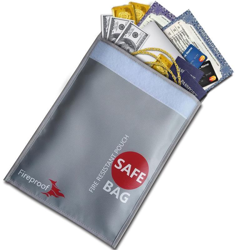 Fireproof Doent Bag Safe Storage