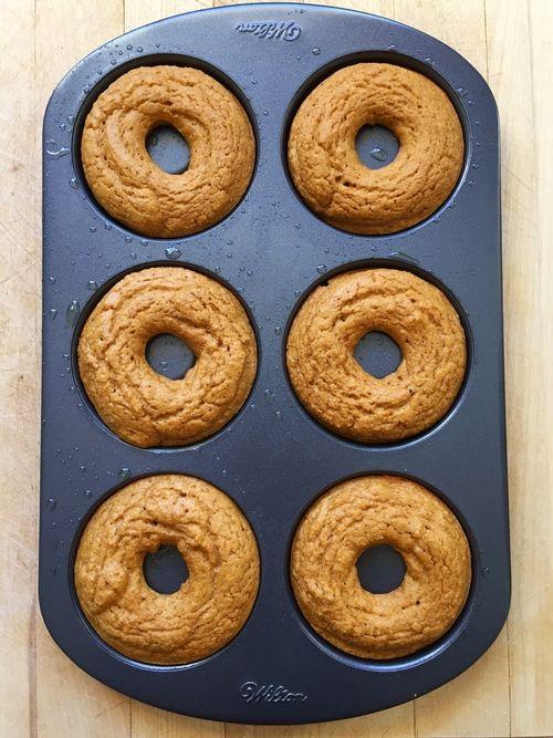 Pumpkin Protein Donuts #wheyproteinrecipes