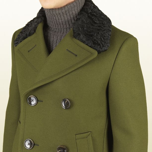 The color to envy this season Gucci Men's FW 13-14