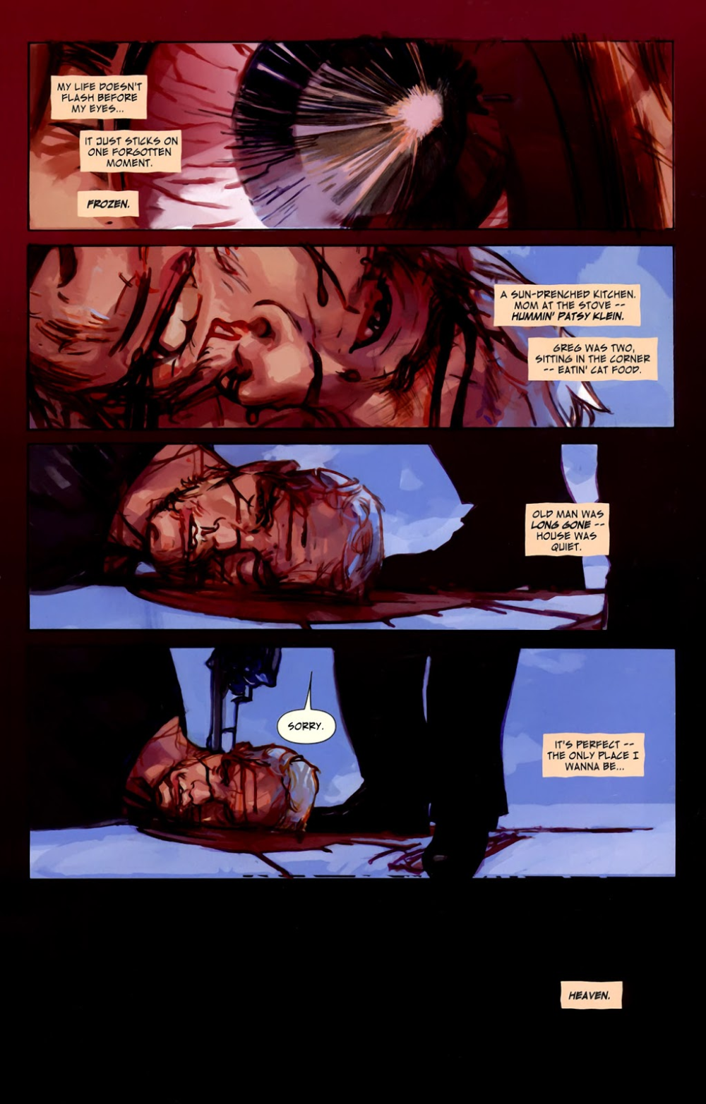 The Last Days Of American Crime Issue 1 Read The Last Days Of American Crime Issue 1 Comic Online In High Quality Comic Layout American Crime Graphic Novel