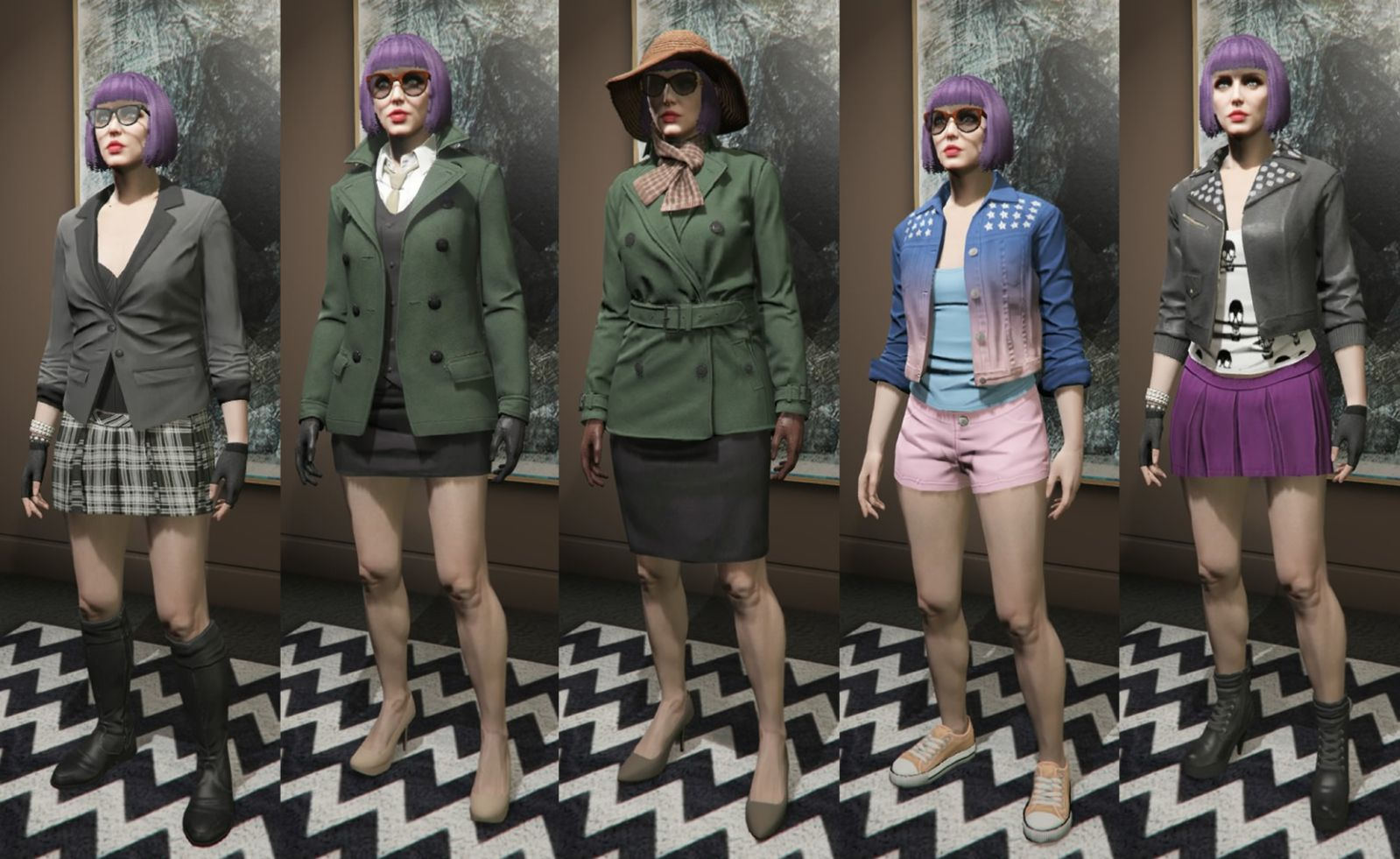 Image Result For Gta Online Outfits Female | Gta | Pinterest