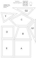 imaginesque template gratuiti di blocco trapunta e modelli