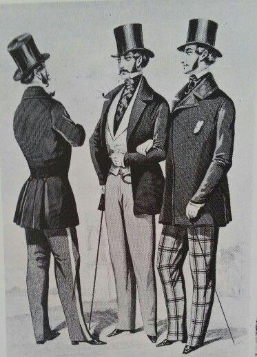 Planche du journal des tailleurs 1850