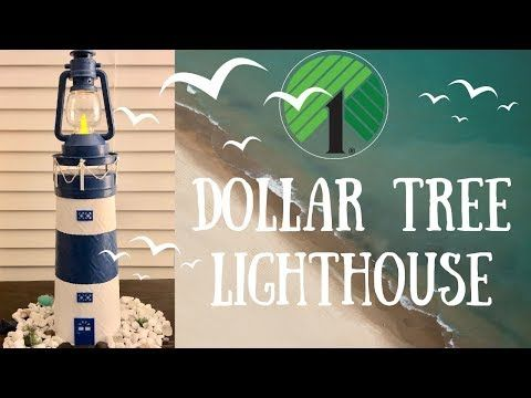 Photo of Dollar Tree Nautical Decor | Lighthouse