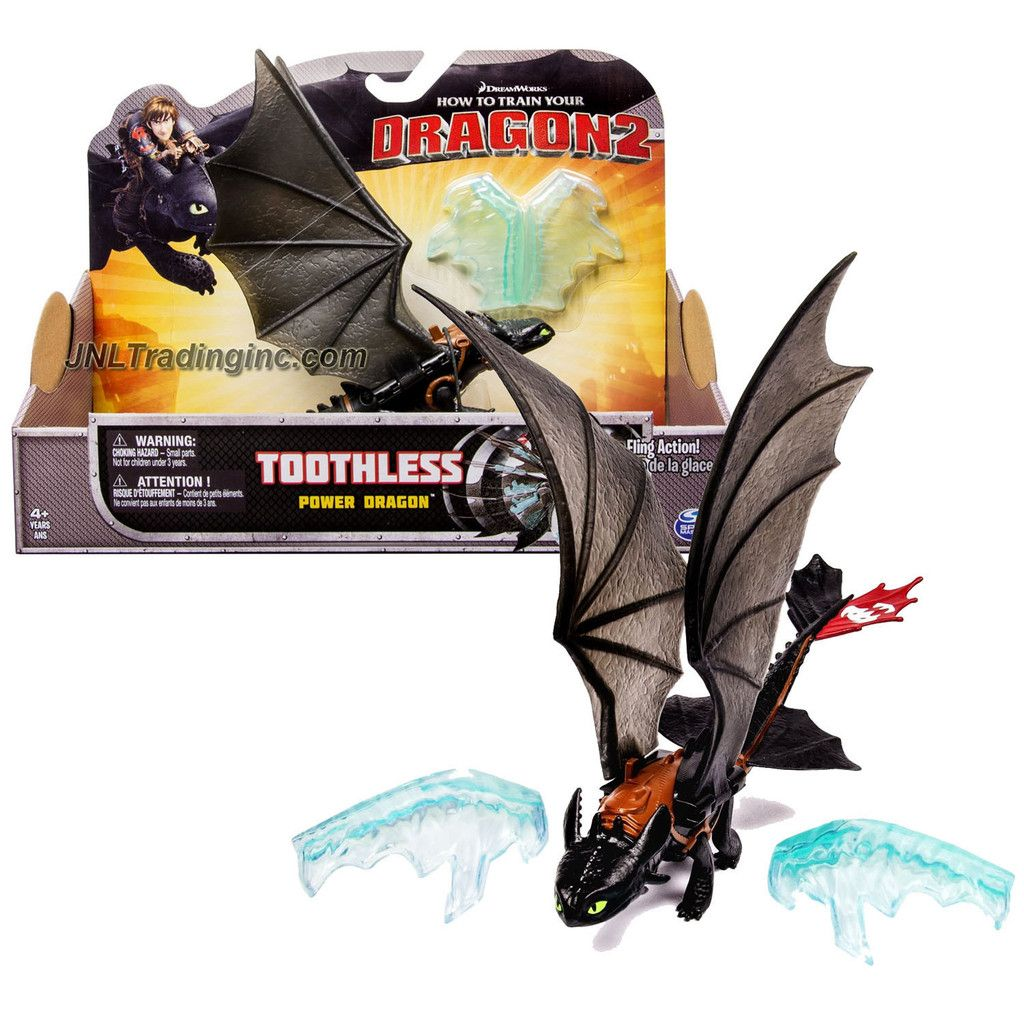 Dreamworks How To Train Your Dragon 2 Series 9 Inch Long Figure Power Dragon Toothless With Ice Fling Action How Train Your Dragon How To Train Your Dragon How To Train Your