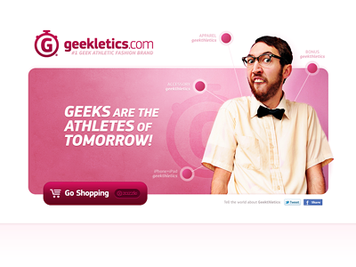 Athletics for Geeks / Geekletics.com by musHo