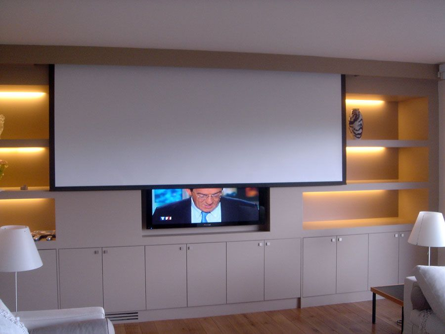 Les installations home cin ma audio et vid o blaack for Meuble un petit appartement