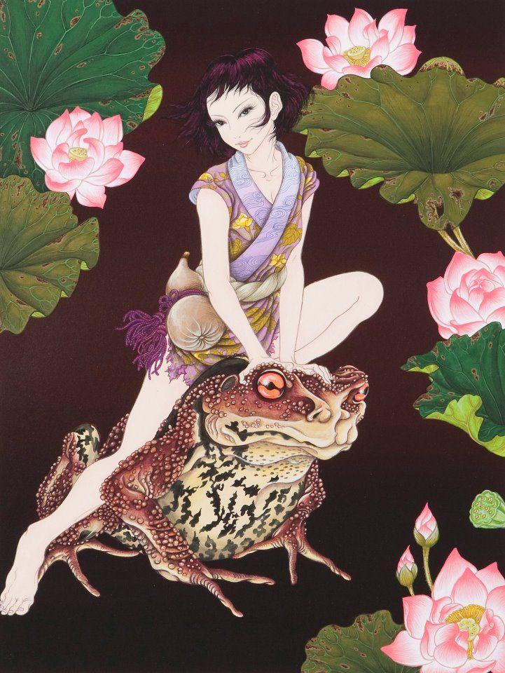 蝦蟇 ~ Lotus ~