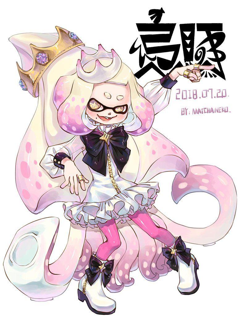 i will protect this child splatoon character art marina splatoon