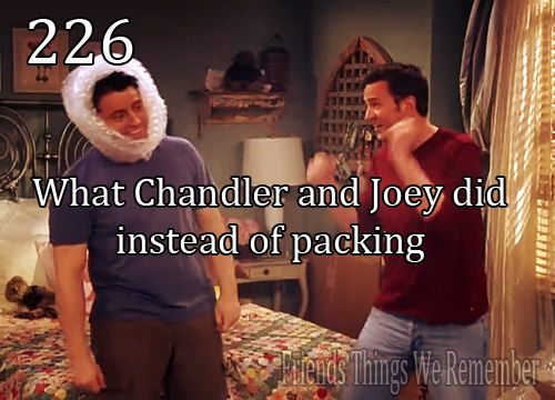 Joey takes risks