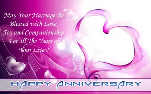 Happy MARRIAGE Anniversary Cards SMS Wishes – Wedding Anniversary Card Quotes