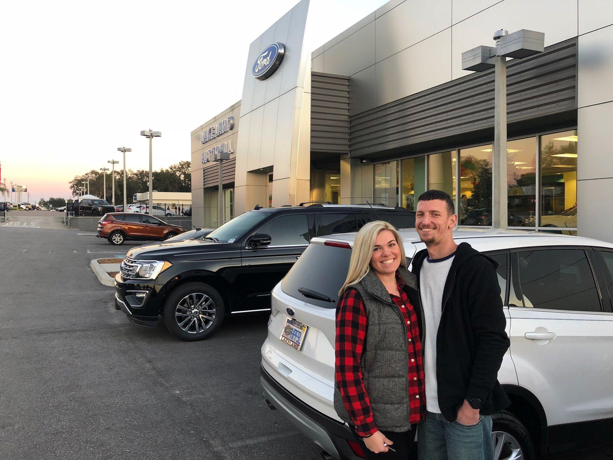 Mrs Ashley Martin Came Into Lakeland Ford In The Hopes Of Finding