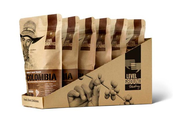 Coffee Packaging Designs level-ground-trading #packaging-design #coffee pouches and #bags