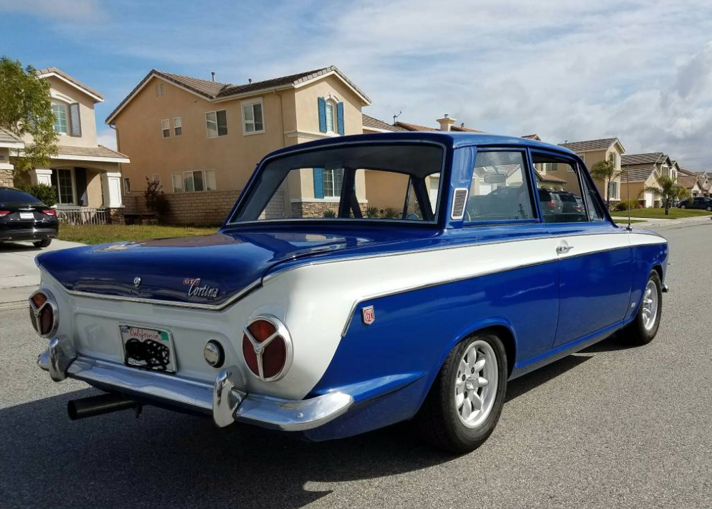 1963 1966 Ford Lotus Cortina Classic British Ford Cars For Sale