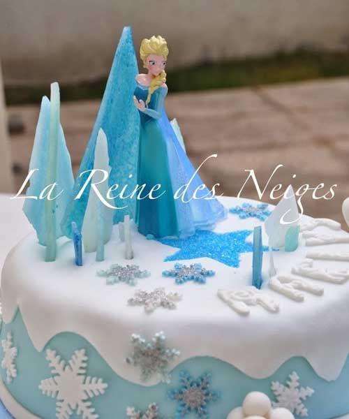 Gateau anniversaire princesse