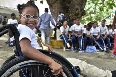 Niños con discapacidad se enfrentan a la barrera de la accesibilidad en el país