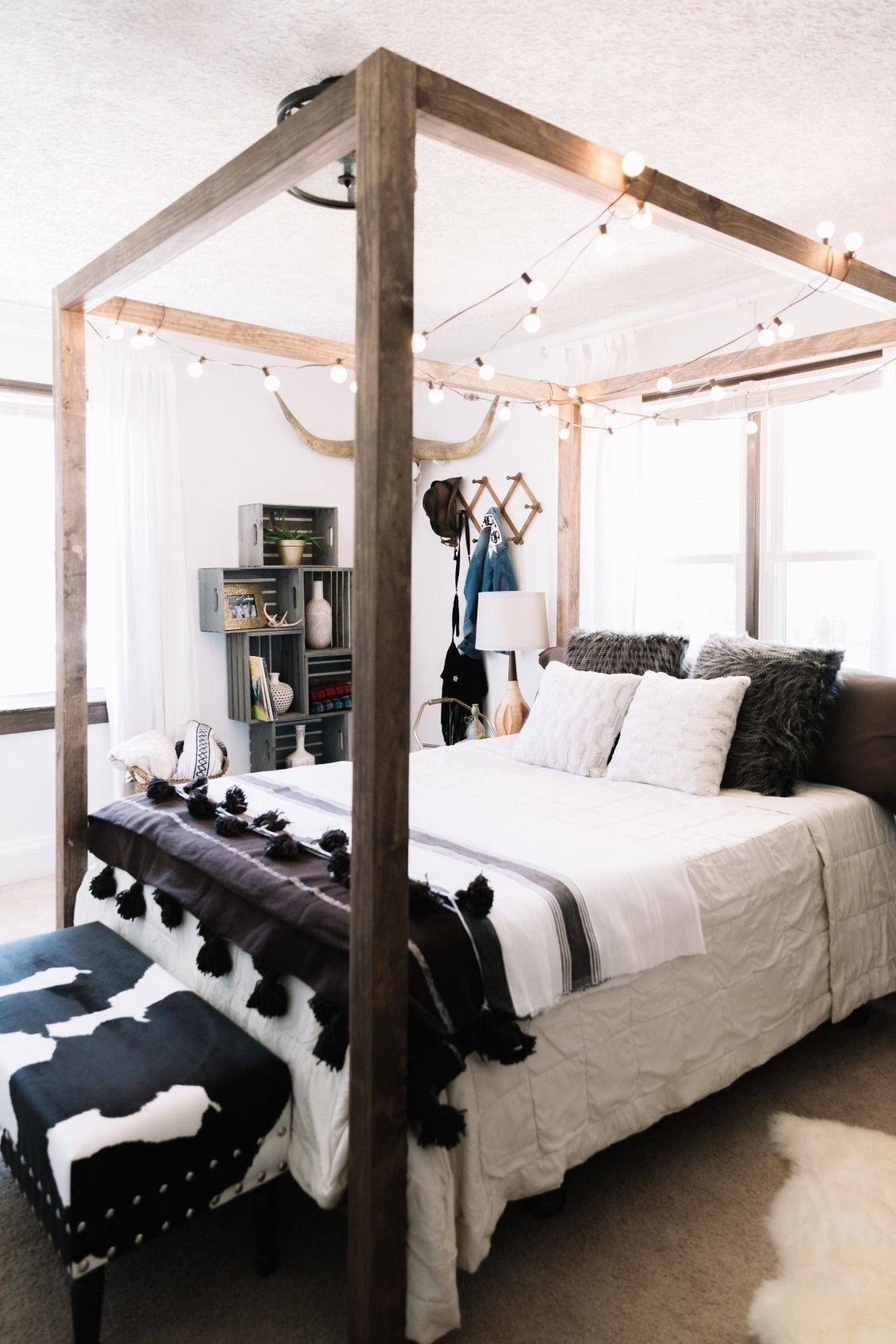 A Nashville rental gets an All-American bedroom makeover that would please any landlord. & A Nashville rental gets an All-American bedroom makeover that ...