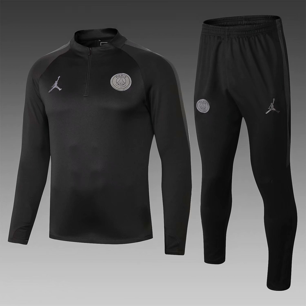 a28dc21c6be PSG 18/19 Jordan Black Men Tracksuit Slim Fit | PSG | Jordan jackets ...