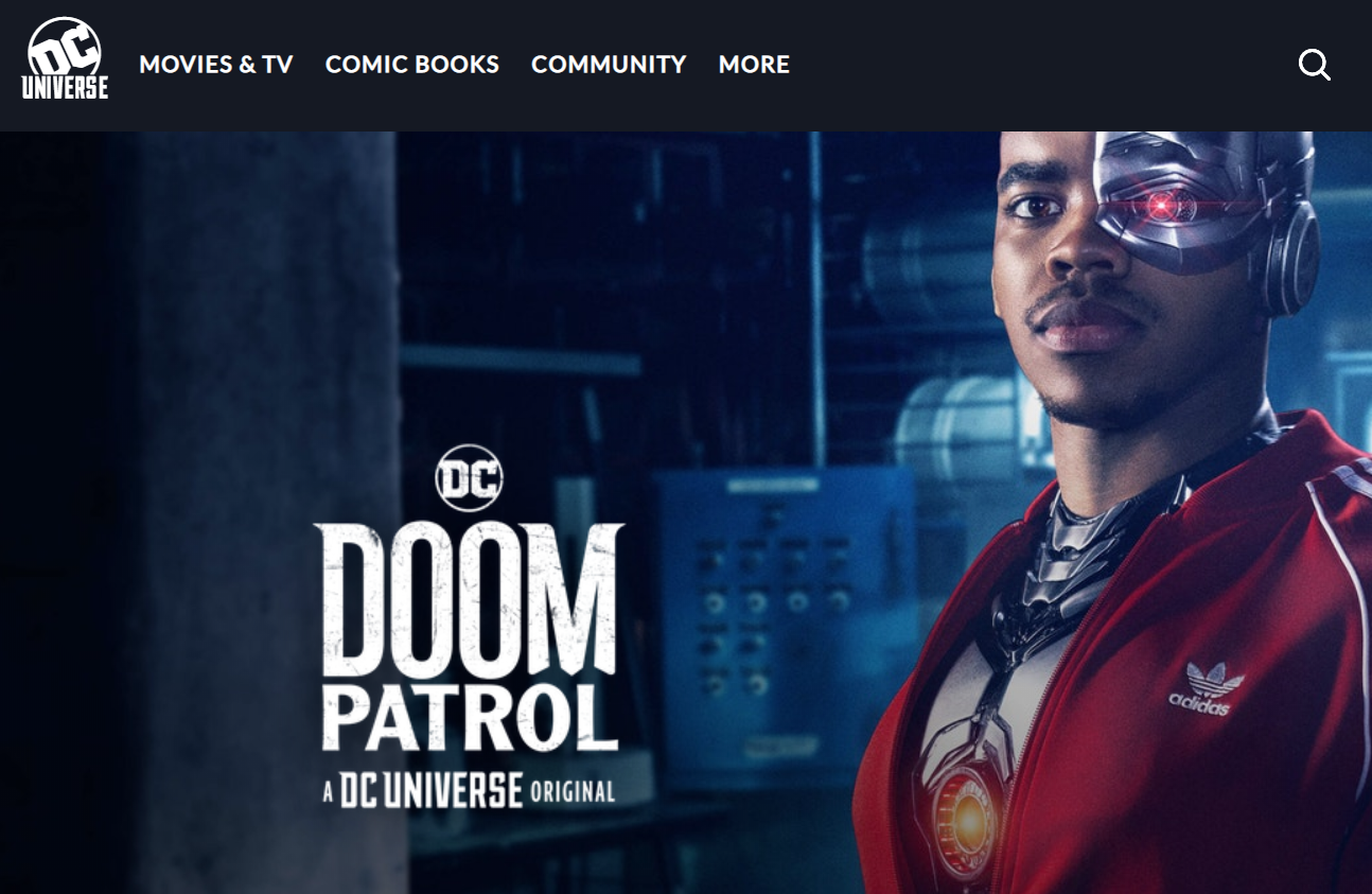 Meet The Reluctant Heroes Of The Doom Patrol Doom Patrol Doom Brendan Fraser