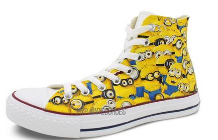 Converse Minion sneakers | Bemalte schuhe