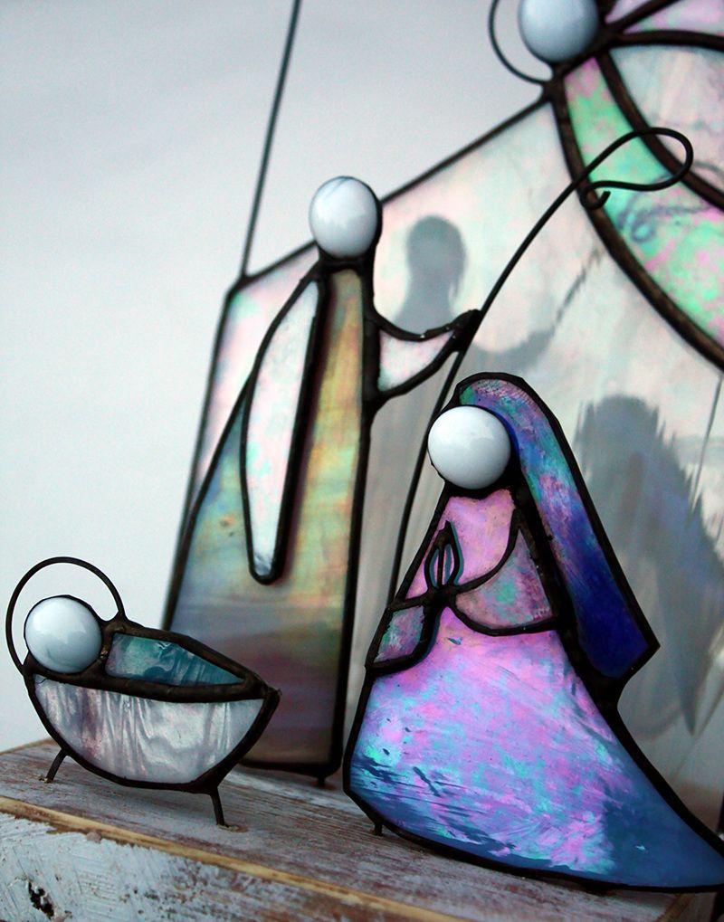 Christmas Shop - Glass Art | Presépio , Sagrada Família ...