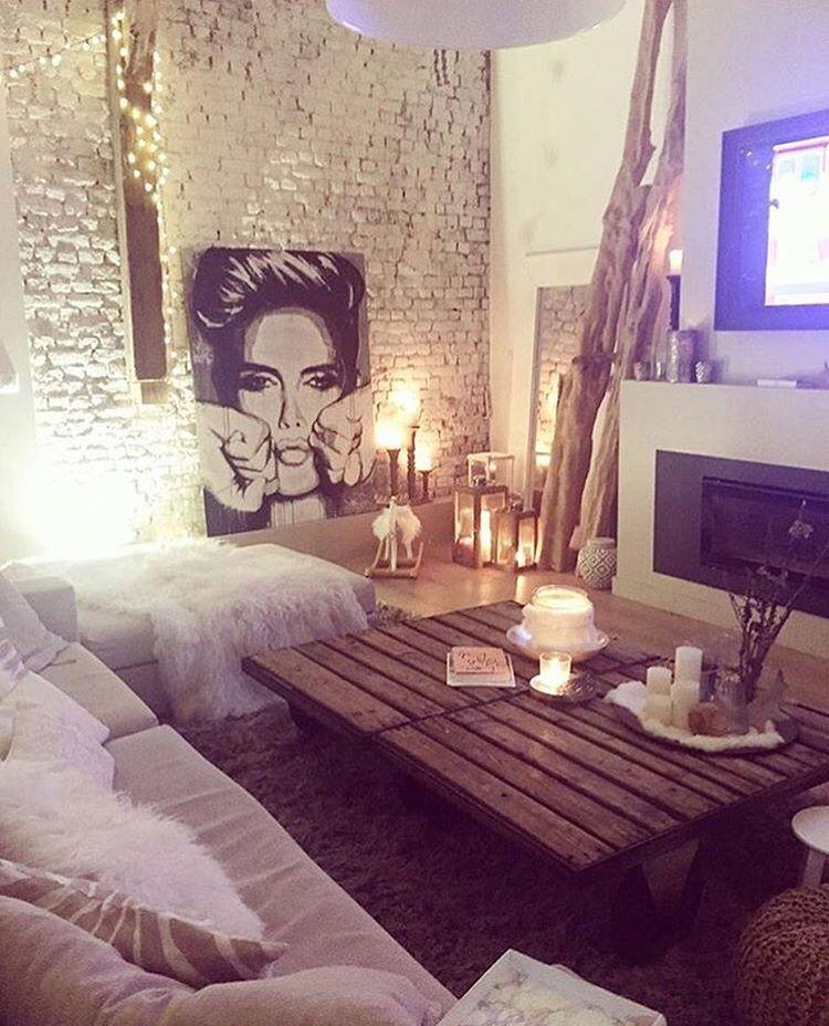 Sieh dir dieses instagram foto von an - Cute ideas to decorate your living room ...