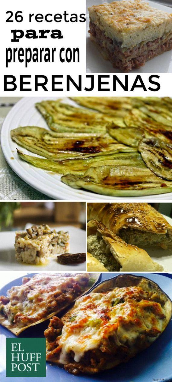 En conserva, rellenas, fritas... 26 ideas para cocinar berenjenas ...