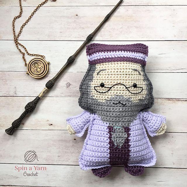 Ravelry: Ragdoll Dumbledore pattern by Spin a Yarn Crochet | Crochet ...