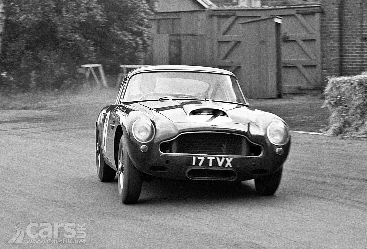 Aston Martin follows Jaguar with the Aston Martin DB4 GT ...