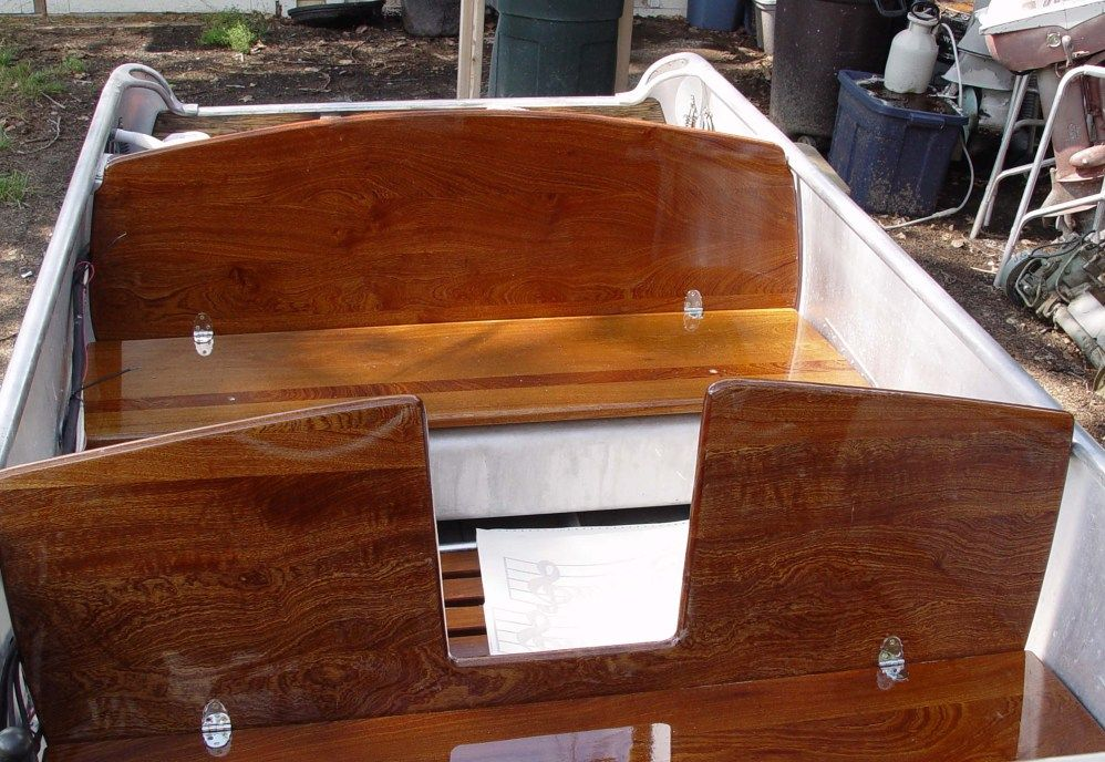 Marvelous Plywood Bench Seats Aluminum Boat Boat Polishing Aluminum Spiritservingveterans Wood Chair Design Ideas Spiritservingveteransorg