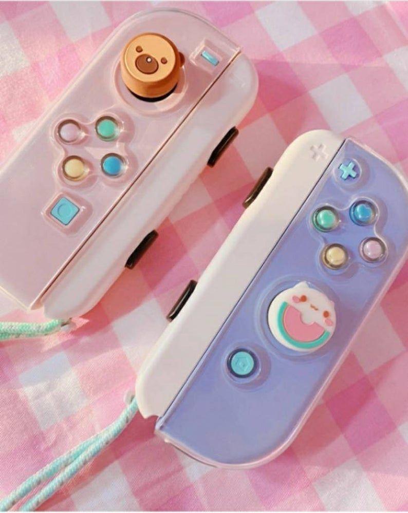 Cute cat bear thumb grip for Nintendo switch joyst