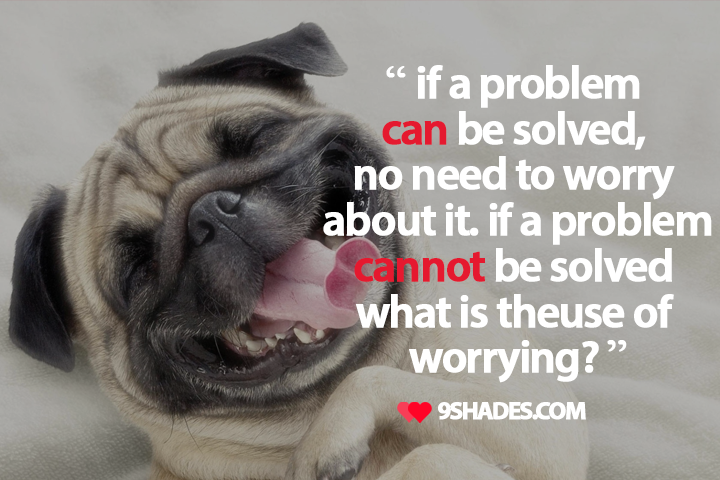 Good Morning Quotes For Facebook Status if a problem can be solved good morning quote.you can download