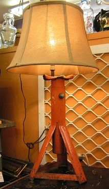 Car Jack Turned Into A Lamp This Is Soo Cool Would Love