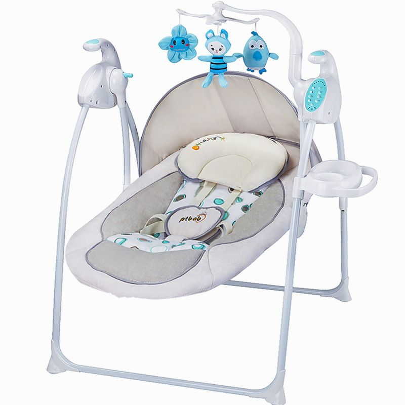 Ptbab Baby Rocking Chair Electric Baby Rocking Chair Child Cradle Bed  Placarders Concentretor Rocking Chair Chaise