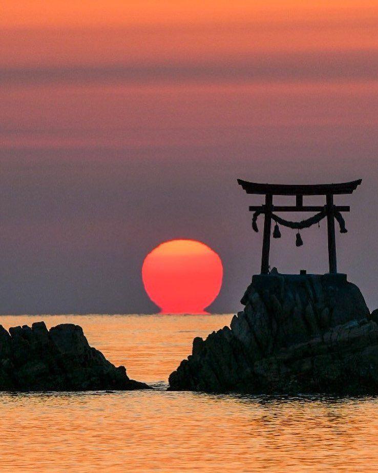 Nada Beach, Kitsuki, Oita, Japan, Travel, Tourist Attraction, Sightseeing Spots, Superb Views, Ocean, Sunrise, 奈多海岸, 杵築, 大分, 日本, 絶景