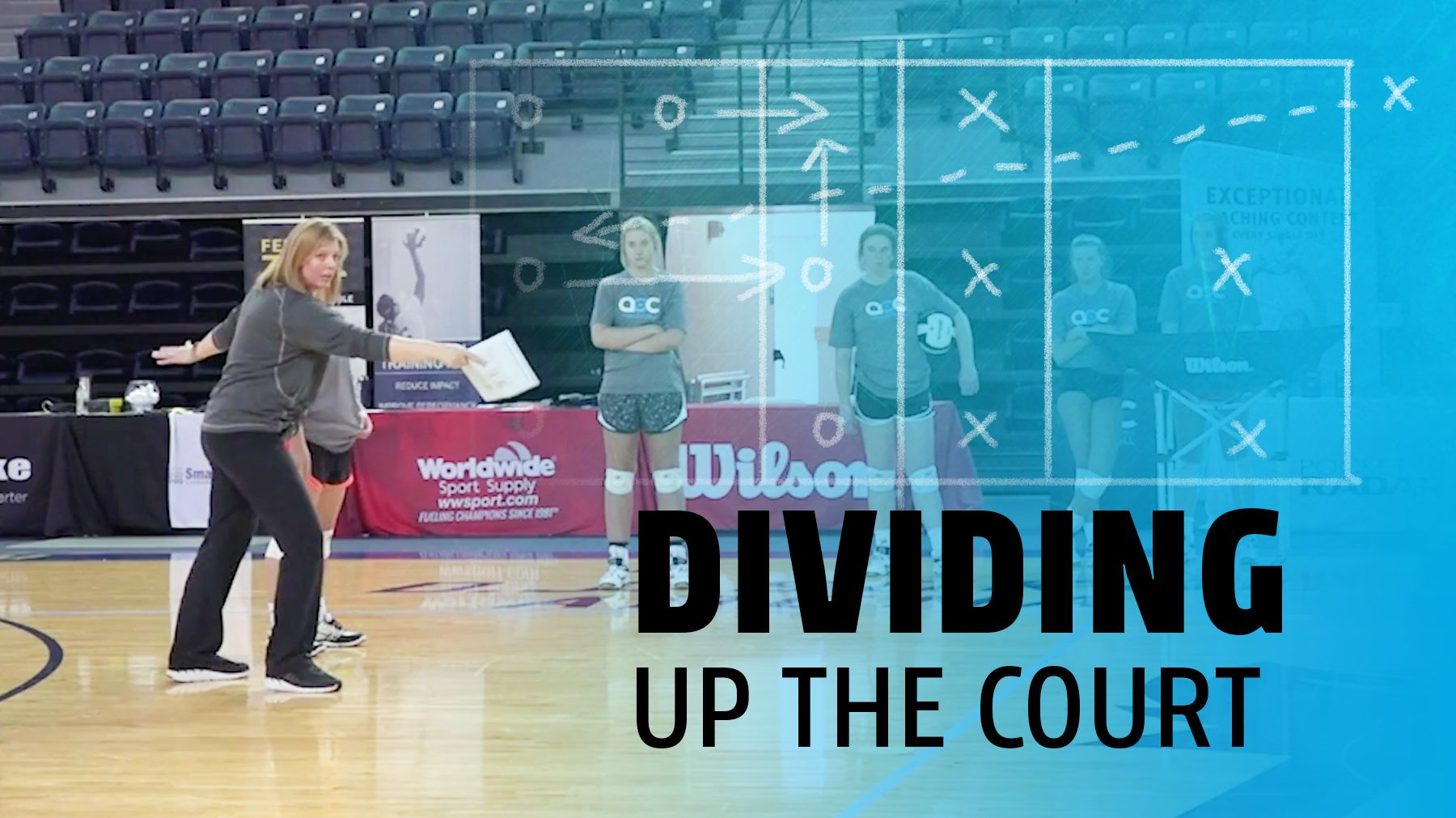 Dividing Up The Court On Serve Receive The Art Of Coaching Volleyball Coaching Volleyball Volleyball Serve Volleyball Practice