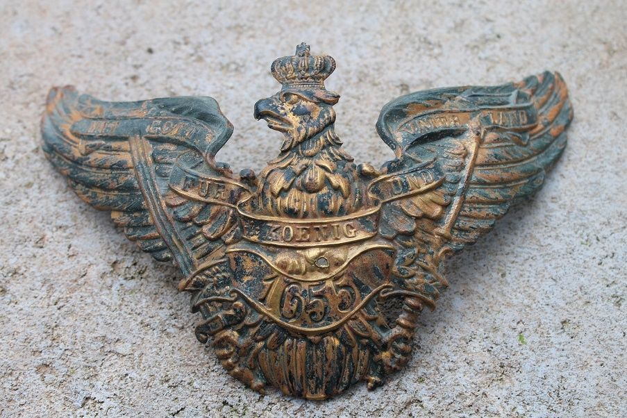 Pickelhaube- Adler- Grenadier- Nr.-Königsberg-1655!!!!