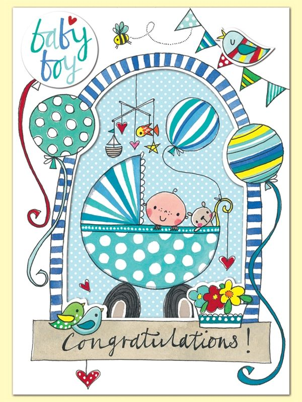 New baby boy congratulations greeting card by rachel ellen new baby boy congratulations greeting card by rachel ellen designs m4hsunfo