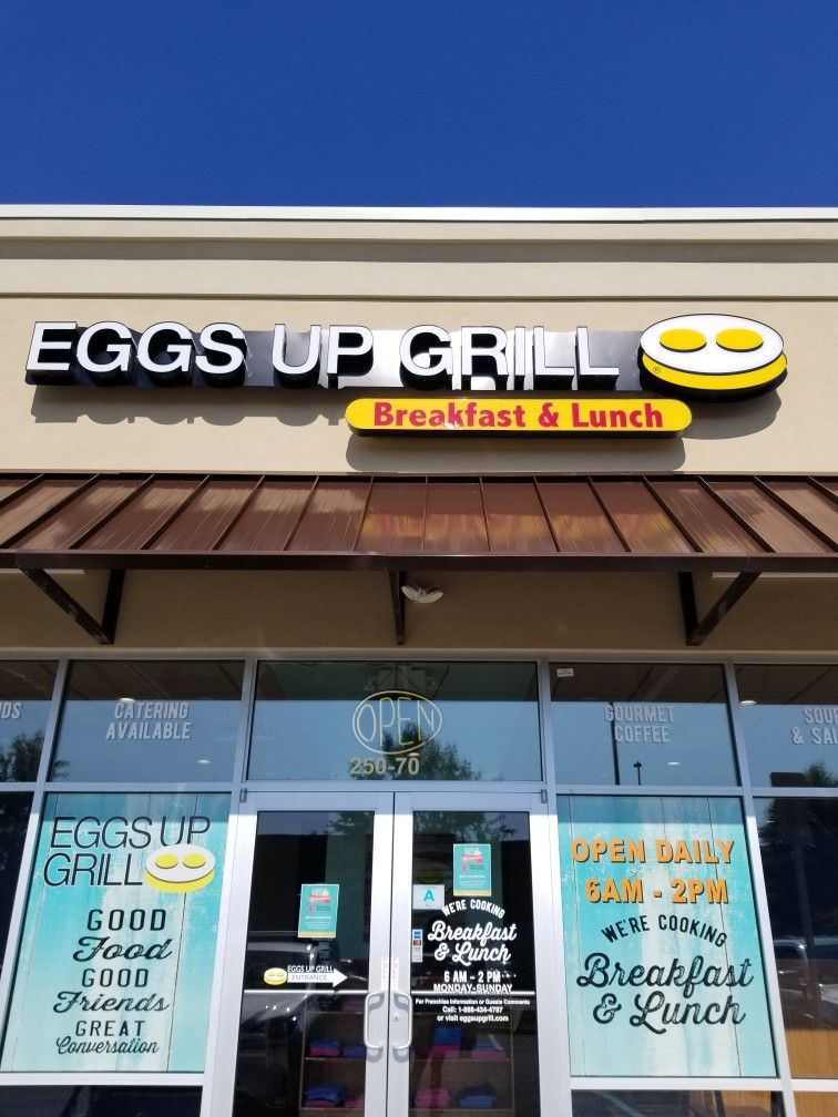 Eggs Up Grill In Florence Sc Is A Great Breakfast And Brunch
