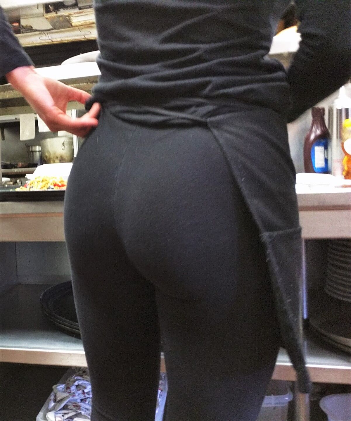 sexy ass at work