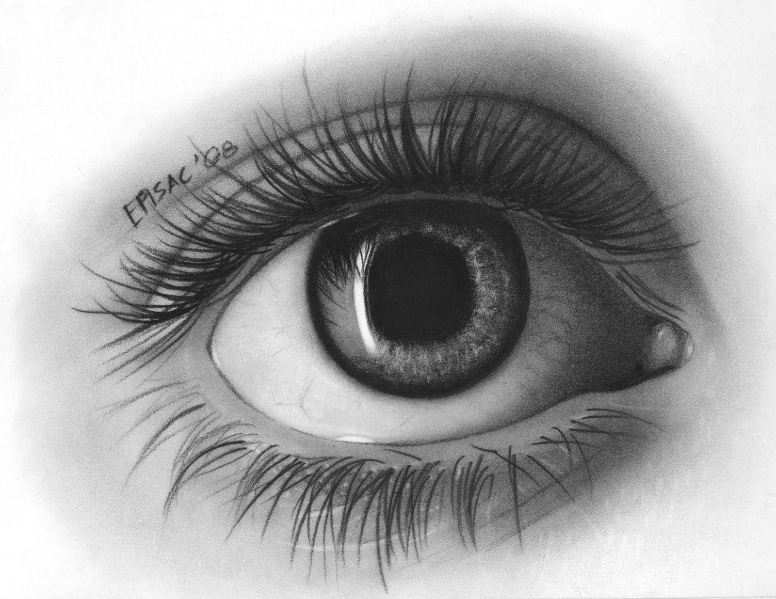 Eye reflection drawing drawing a reflection reflections eye pencil drawing eye sketch y - Eye drawing wallpaper ...