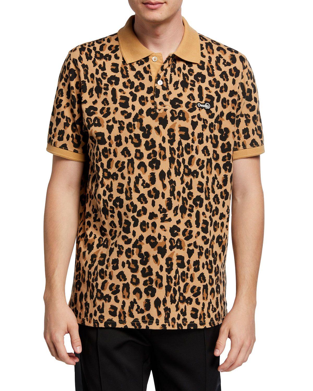 Men S Leopard Print Polo Shirt Printed Polo Shirts Shirts Leopard Print [ 1500 x 1200 Pixel ]