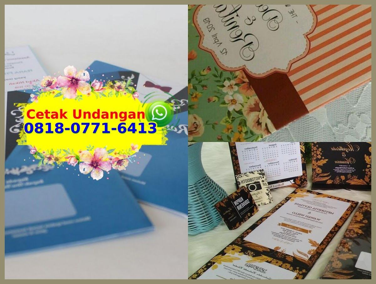 Contoh Undangan Pernikahan Lipat Tiga 0818 0771 6413 Wa Contoh Undangan Pernikahan Undangan Pernikahan Pernikahan